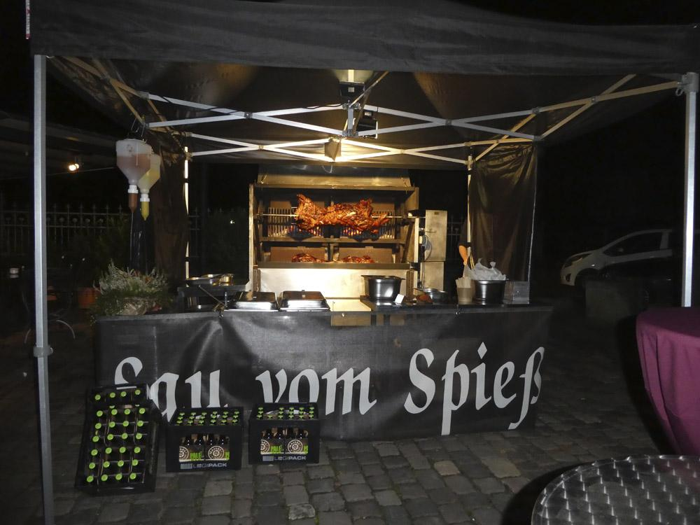 Sau vom Spieß = sau-saugut - Caterings in Bad Zwischenahn